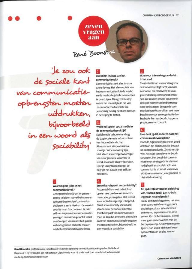 interview communicatie NU
